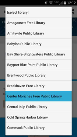 android app Center Moriches
