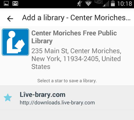 android app Live-brary